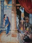 Rukmani arts  paintings   Code 161