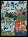 Rukmani arts  paintings   Code 75