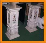 Rukmani arts  pedestals   Code 30