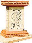 Rukmani arts  pedestals   Code 78