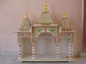 Code 27 Catalog Marble Carved White Marble Temple Mandir Marble