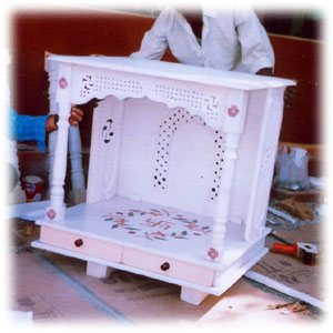 Marble Pooja Mandir Designs For Home. Pooja Room. Home Temple ...