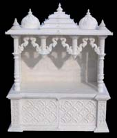 Marble temple design in home - Home design