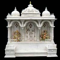 Marble Carved White Marble Temple / Mandir ...