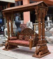 Wooden Swings Wooden Jhoola Buy Carved Indian Swings