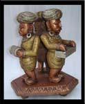Rukmani arts  wooden   Code 64