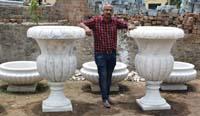 Rukmani arts  flowerpots   Code 56